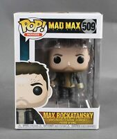 Funko POP Movies EW Mad Max Fury Road #509 Max Rockatansky Vinyl Figure 1089W
