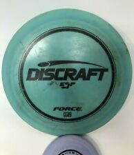 Discraft Esp Force Distance Driver Oop Stamp Used Blue Fast Shipping