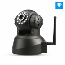 Indoor Wireless IP WiFi Internet Audio Camera Cam IR Night Vision Security US HO