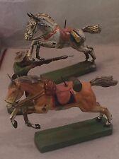 G671: Balancefigur Ritter mit Harnisch zu Pferde Pendelfigur zur Ritterzeit