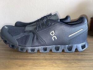 ON CLOUD (CLOUD). CLOUDTEC SWISS ENGINEERING (BLACK) Running Shoe US 10.5