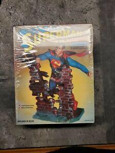 SUPERMAN MONOGRAM 1978 Plastic Model Kit VERY RARE Sealed