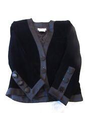 Yves Saint Laurent Rive Gauche Black Velvet Blazer Ladies Jacket