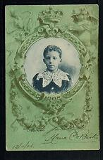 2688.-S.M. EL REY DON ALFONSO XIII 1895-6.Colección Conmemorativa al 17 May.1902