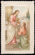 santino merlettato-holycard-canivet GESU' COMUNICA S.GIOVANNI EV.