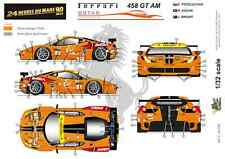[FFSMC Productions] 1/32 Ferrari F458 GT AM 8Star Motorsports 24 H del Mans 2013