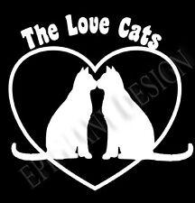 The Cure Love Cats inspirado Camiseta Robert Smith Señoras Gran Regalo Camiseta