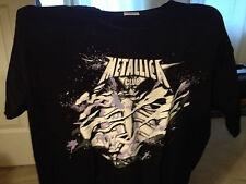 METALLICA METCLUB FAN CLUB 2012 Large Mens T-shirt
