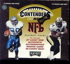1999 Playoff Contenders SSD Football Hobby Box Sealed!!