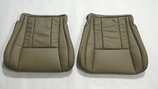 1997-98 Two leather seatcover bottoms Toyota 4runner  tan drivers and passengers