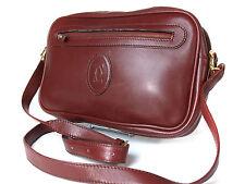 Auth CARTIER Cartier Must De Vintage Bordeaux Shoulder Bag CS13738L