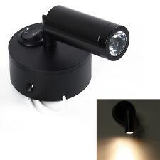 12V Spot LED interior luces de lectura Caravana Barco Tabla De Gabinete De Pared Lámpara