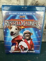 Blu-Ray + DVD + Digital HD Air Bud Presents Russell Madness