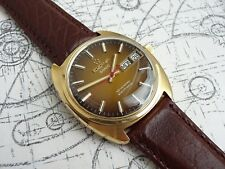 1971 Eterna Sonic Sevenday Electronic Tuning Fork Watch ESA9162 F300 FullService