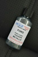 FORD THUNDER METALLIC NEW TOUCH UP KIT BOTTLE BRUSH REPAIR PAINT CHIP SCRATCH
