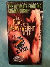 Ultimate Fighting Championship XVIII - The Road to the Heavyweight Title...