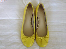 SIZE 8M SAKS FIFTH AVENUE NEW YORK BALLET FLATS LEATHER  NEW  COMFY SLIP ON SHOE