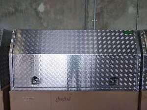 3MM Aluminium Toolbox Full Recessed Door Open Ute tool box 1800x600x820mm