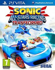 Sonic & All Stars Racing Transformed PS Vita Sony Brand New Sealed FREE DELIVERY