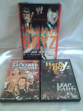 Hardy Boyz Leap of Faith Exist 2 inspire Biographie DVD WWE TNA Backyard Jeff