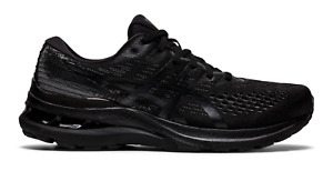 NEW Men's ASICS Gel-Kayano 28 Triple All Black White Running Shoes Sizes 8-14