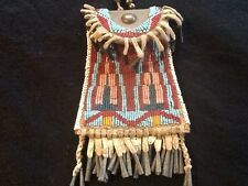 Strike a Light Lite bag fully beaded Cheyenne Sioux Lakota excellent condition