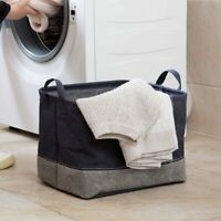 Waterproof Foldable Storage Basket Bin Holder Container Organizer with Handle