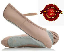 WESTPOLE Pink Ballet Shoes Child and Adult Sizes. Full leather Sole. Soft inside