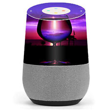 Skin Decal Vinyl Wrap for Google Home stickers skins cover/ Tropical Sunset Win