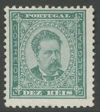 PORTUGAL 1884 perf 11 1/2 10R...FINE MINT LH...SG231