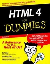 HTML 4 for Dummies (with CD-ROM)