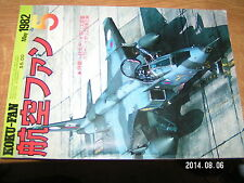 KOKU-FAN May 1982 Mitsubishi Type 100 Buccaneer Tornado RAF