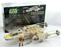 Star Wars Y-Wing Fighter The Power of the Force POTF2 Hasbro 1999 Complete Boxed
