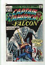 Marvel Comics Captain America and The Falcon Vol. 1 No. 222 June 1978 12P