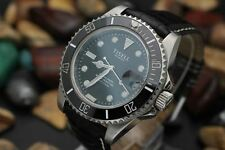 Men's TISELL Automatic Marine Master 200M Stainless Steel Diver's Watch