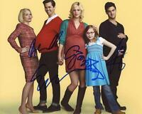 """The New Normal"" Cast AUTOGRAPHS Signed 8x10 Photo ACOA"