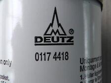 0117 4418 Wechselfilter Ölfilter Deutz AG