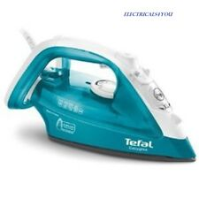 TEFAL FV3925 DRY AND STEAM IRON, 2300W, 0.27L WATER TANK - TURQUOISE/WHITE
