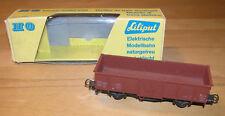 LILIPUT H0 231 + Hochbordwagen + offener Güterwagen + SNCF 614963 braun + OVP