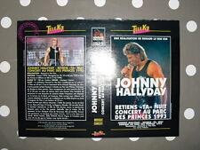 JOHNNY HALLYDAY Retiens Ta Nuit Parc Des Princes 1993 Jaquette VHS