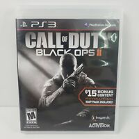 Call Of Duty: Black Ops II (Playstation 3, 2012) Cleaned & Tested DA92984