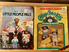 Xavier Roberts Little People Pals Doll & Crocheted Clothing Patterns #7546 7867