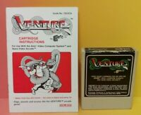 Atari 2600 Venture Game & Instruction Manual Tested Works Rare