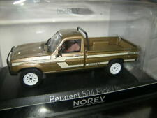 1:43 Norev Peugeot 504 Pick Up 4x4 Dangel 1985 beige Nr. 475457 in OVP