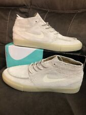 super popular 2d470 2a05a NIKE SB JANOSKI MID CRAFTED SKATE SHOES AQ7460-200 LIGHT CREAM SIZE 14