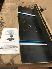 Drill Press Table And Fence Model 96395. Used.