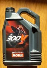 Motul 300V 4T Full Synthetic Motorcycle Oil 10W-40 4 Liter liter 1 one US gallon