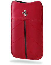 FECFSLMR Etui cuir rouge Ferrari California pour iPhone 4 et 4S