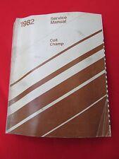 1982 Colt Champ Chrysler Complete Car Factory Service Repair Manual