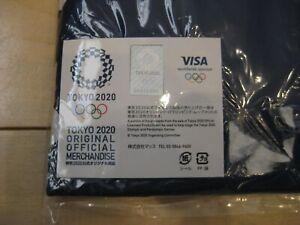 2020 TOKYO OLYMPICS Official Unisex HAPPI Coat Kimono (Navy) Size Free Japan